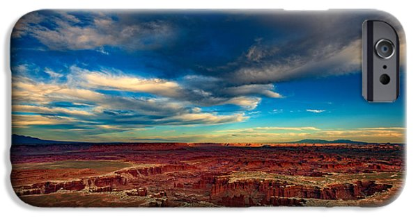 The Plateaus iPhone Cases - Grand View Point iPhone Case by Rick Berk