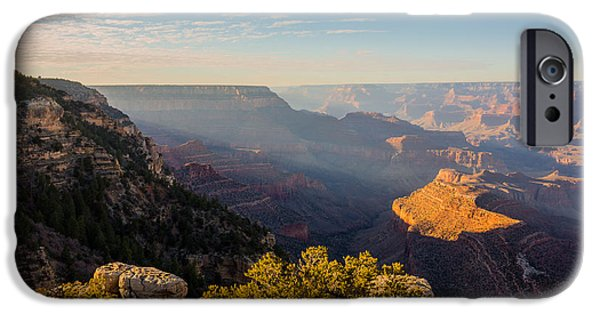 Grand Canyon iPhone Cases - Grandview Sunset - Grand Canyon National Park - Arizona iPhone Case by Brian Harig