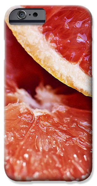 Grapefruit Halves iPhone Case by Ray Laskowitz - Printscapes