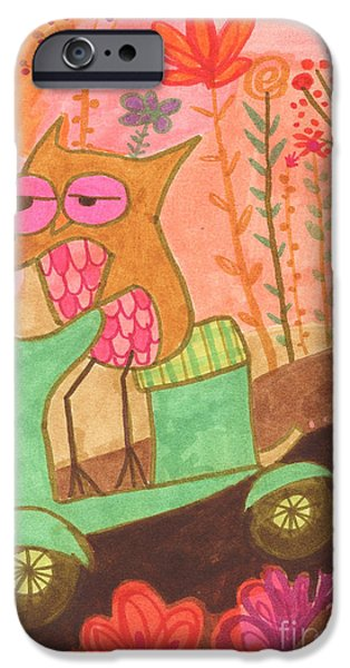Great Escape iPhone Case by Kate Cosgrove