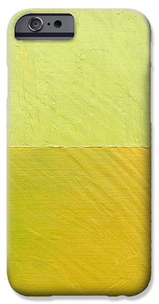 Green and Greenish iPhone Case by Michelle Calkins
