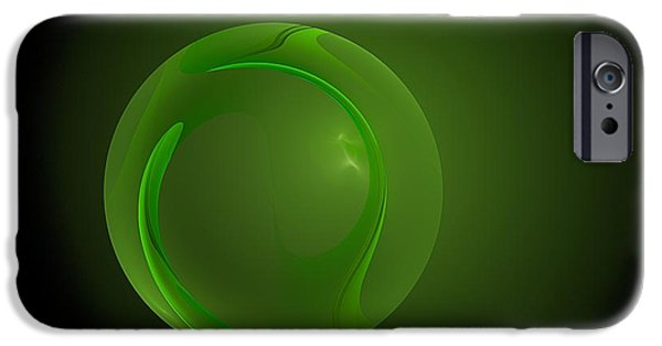 John Stewart iPhone Cases - Green Lantern  iPhone Case by Doug Morgan