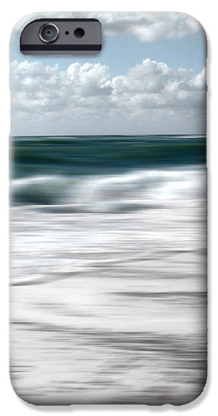 North Sea iPhone Cases - Green Sea iPhone Case by Steffi Louis