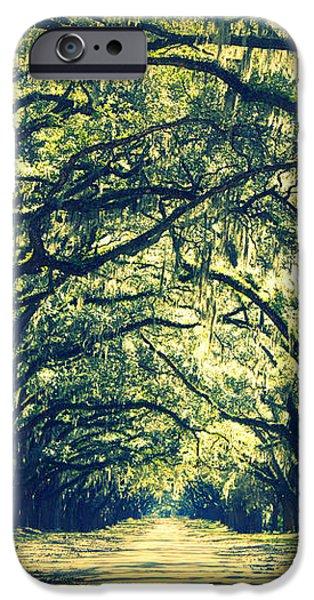 Green World iPhone Case by Carol Groenen