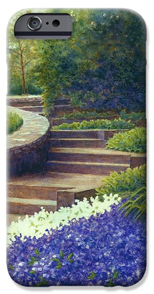 Janet King iPhone Cases - Gretchens view at Cheekwood iPhone Case by Janet King