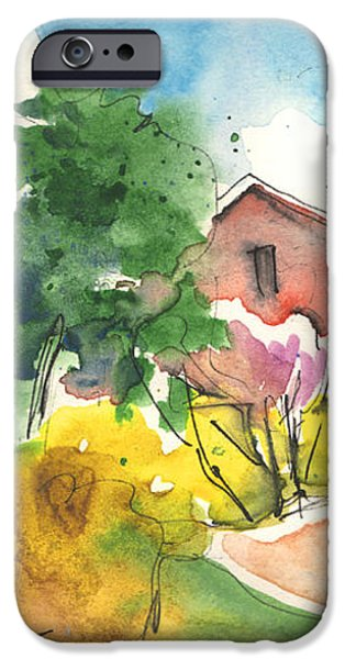 Greve in Chianti in Italy 01 iPhone Case by Miki De Goodaboom