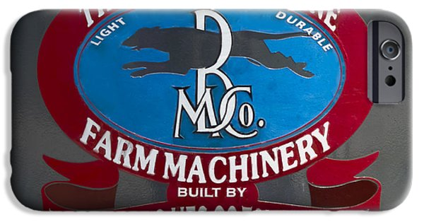 Machinery iPhone Cases - Greyhound Line Logo iPhone Case by F Leblanc