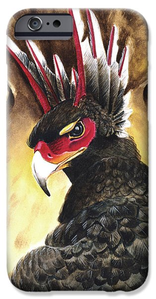 Storm Prints Mixed Media iPhone Cases - Griffin Sight iPhone Case by Melissa A Benson