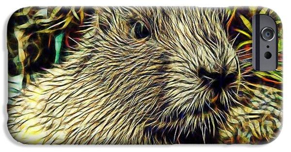Groundhog iPhone Cases - Groundhog iPhone Case by Marvin Blaine