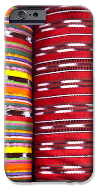 Guatemalan Textiles 2 iPhone Case by Douglas Barnett