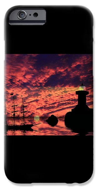 Guiding The Way iPhone Case by Shane Bechler
