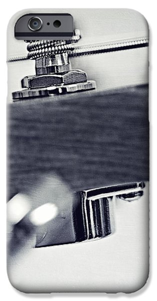 guitar V iPhone Case by Priska Wettstein