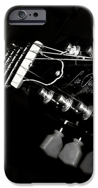 guitarist iPhone Case by Stylianos Kleanthous