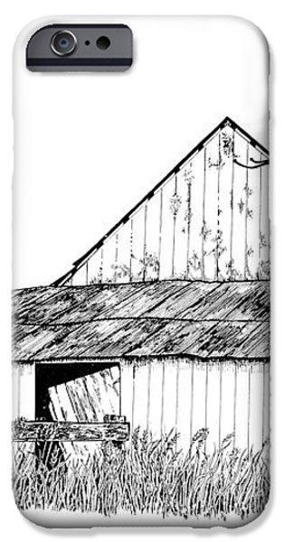 Haines Barn iPhone Case by Virginia McLaren