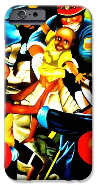 Miracle iPhone Cases - Haitian Hope   iPhone Case by Monica  Vega