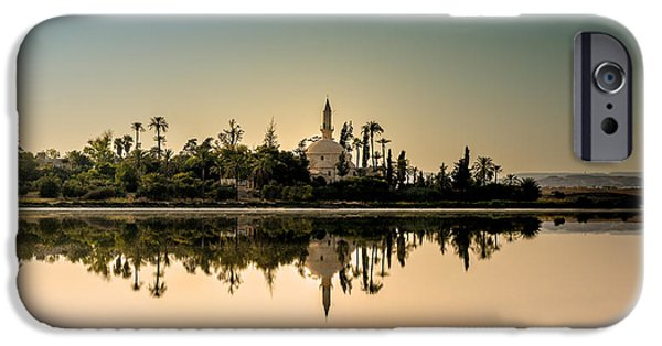 Building iPhone Cases - Hala Sultan Tekke  iPhone Case by Stylianos Kleanthous