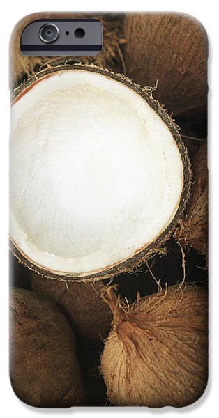 Half Coconut iPhone Case by Brandon Tabiolo - Printscapes