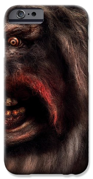 Halloween -  Mad Dog iPhone Case by Mike Savad