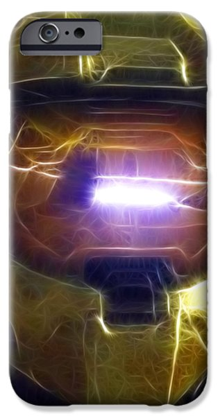 Halo Mistical iPhone Case by Paul Van Scott