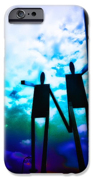 Hand in Hand iPhone Case by Bill Cannon