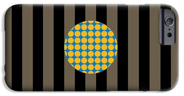 Stripes iPhone Cases - Hang Loose--Two iPhone Case by Patti Britton