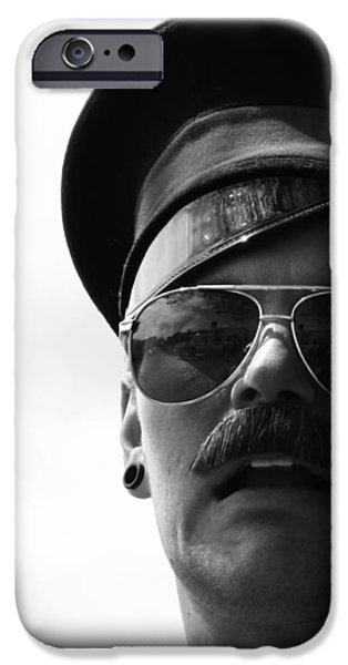 Police iPhone Cases - Hank was arrested  iPhone Case by Jerry Cordeiro