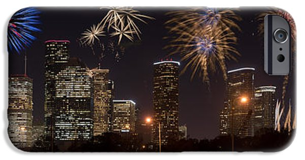 July 4th iPhone Cases - Happy 4th of July iPhone Case by Sergio Garcia Rill