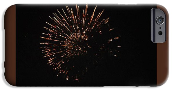 July iPhone Cases - Happy 4th.from Palm Desert 1 iPhone Case by Jay Milo