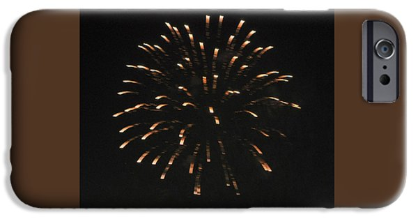 4th July Photographs iPhone Cases - Happy 4th.from Palm Desert 7 iPhone Case by Jay Milo