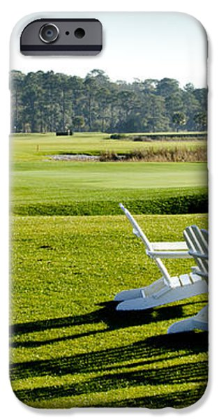 Harbor Town at Seapines 18th Hole iPhone Case by Dustin K Ryan