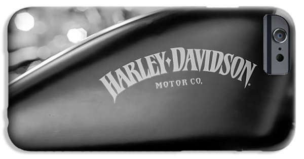Freedom iPhone Cases - Harley-Davidson Iron 883 II iPhone Case by Marco Oliveira