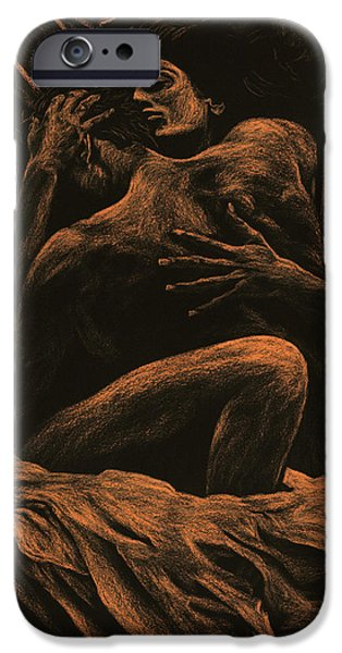 Figures iPhone Cases - Harmony iPhone Case by Richard Young