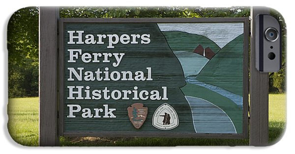 States iPhone Cases - Harpers Ferry National Historical Park iPhone Case by Jason O Watson
