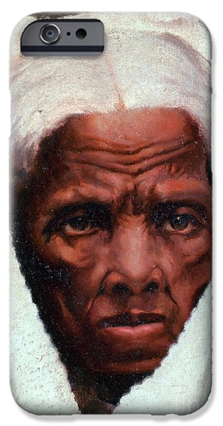 Secession iPhone Cases - Harriet Tubman, African-american iPhone Case by Photo Researchers