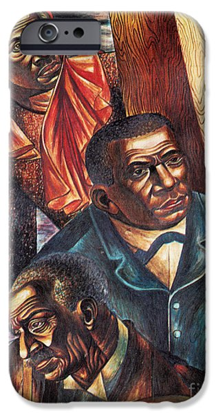 Booker T. iPhone Cases - Harriet Tubman, Booker Washington iPhone Case by Photo Researchers