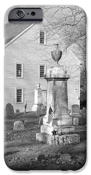 Harrington Meetinghouse -Bristol ME USA iPhone Case by Erin Paul Donovan