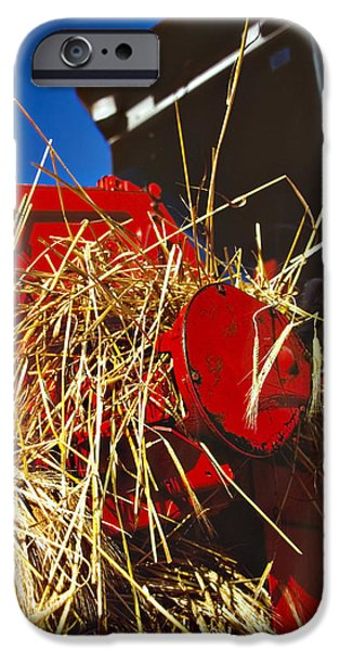 Combine iPhone Cases - Harvesting iPhone Case by Meirion Matthias