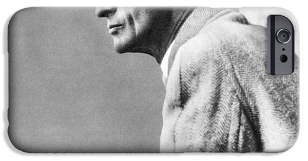 Neurosurgeon iPhone Cases - Harvey Cushing, American Neurosurgeon iPhone Case by