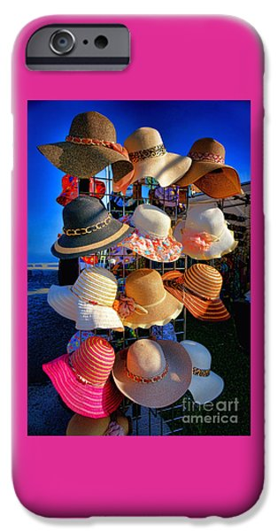 Merchandise iPhone Cases - Hat Rack iPhone Case by Olivier Le Queinec