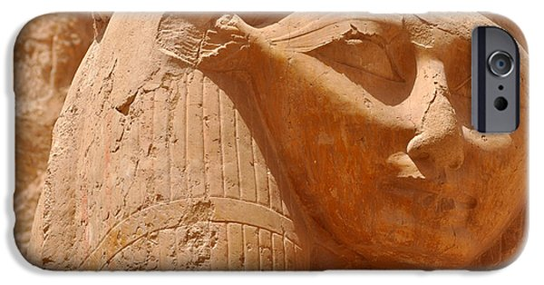 Hathor iPhone Cases - Hathor iPhone Case by Stevyn Llewellyn