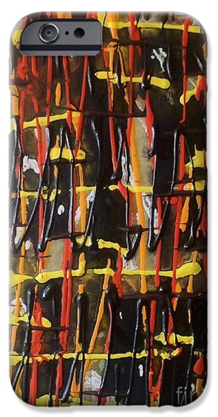 Mad Hatter iPhone Cases - Hatter iPhone Case by Trevor Desrosiers