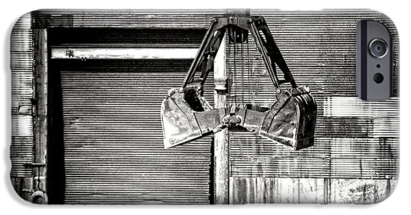 Industrial Photographs iPhone Cases - Haul It iPhone Case by Olivier Le Queinec