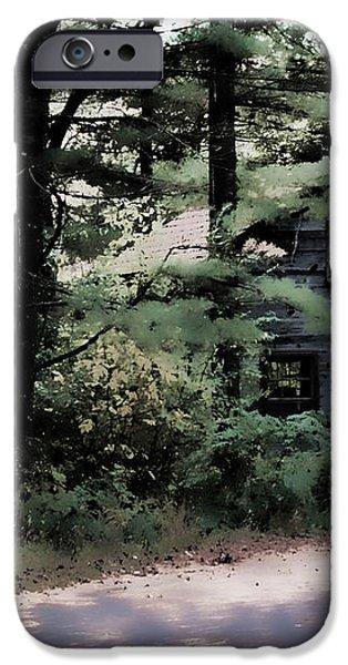 Haunted iPhone Case by Lauren Radke