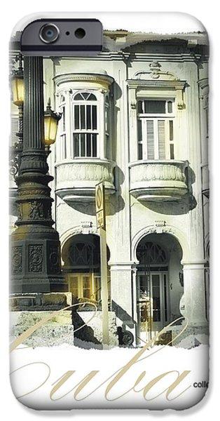 Havana Facade iPhone Case by Bob Salo