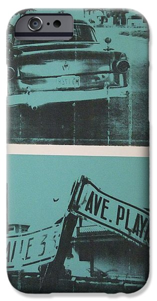 Car Paintings iPhone Cases - Havana Five iPhone Case by David Studwell