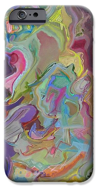 Abstract Expressionist iPhone Cases - Have Another iPhone Case by Philip Rader
