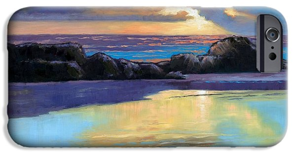 Best Sellers -  - Janet King iPhone Cases - Havik Beach Sunset iPhone Case by Janet King