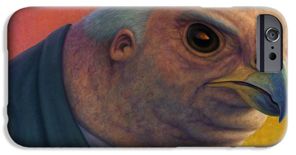 Politician iPhone Cases - Hawkish iPhone Case by James W Johnson