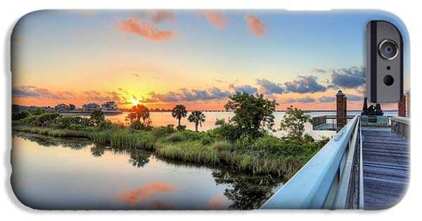 Missing Child iPhone Cases - Hawkshaw Lagoon Memorial Park iPhone Case by JC Findley
