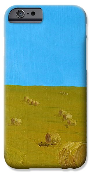 Hay Harvest iPhone Case by Tom Amiss